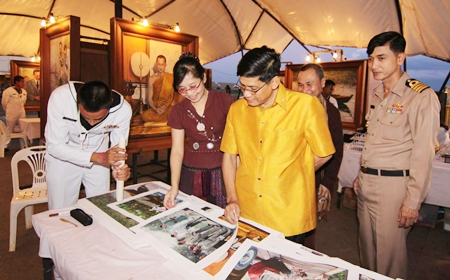"The ""84 Paintings for the King's 84th Birthday"" exhibit which opened Nov. 8 at Rayong's Ploenchai Field."