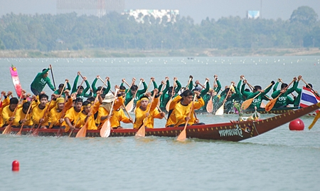 Pattaya's annual longboat races are scheduled for this weekend at Mabprachan Reservoir.