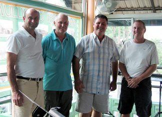 Thursday's top four: Barry, Clive, Geoff & Jim.