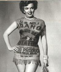 Miss Idaho Potato.