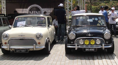 A brace of 'real' Minis.