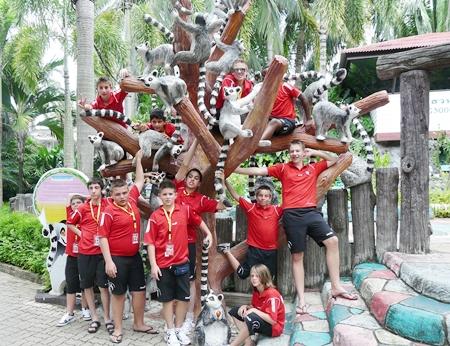 At Nong Nooch Tropical Garden.