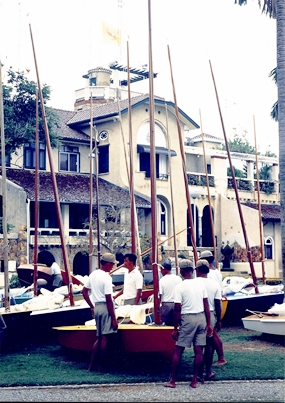 The Royal Chritralada Yacht Squadron, Klai Kangwol Palace: Home of some one hundred OK dinghies.