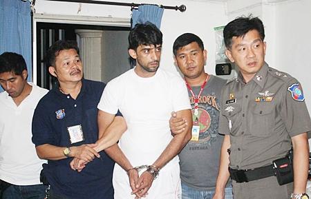 Police hold Iranian Jassem Mohammad Abdulla Almazroee, accused of human trafficking.