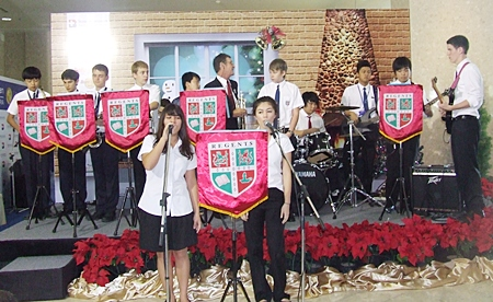 The Regents Soul Band performance by Regent International School.