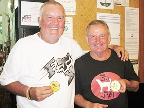 Bob & Evan gold winners.