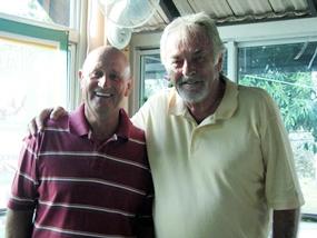 Allan Cassin and Clive Hoseason.