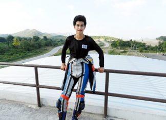 Ben Fortt at the Kaeng Krachan racetrack near Hua Hin.
