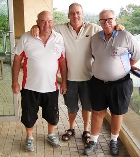 Mike Gosden, Peter Blackburn & Dave Richardson.