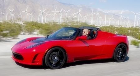 """Tesla """"Lotus""""."""