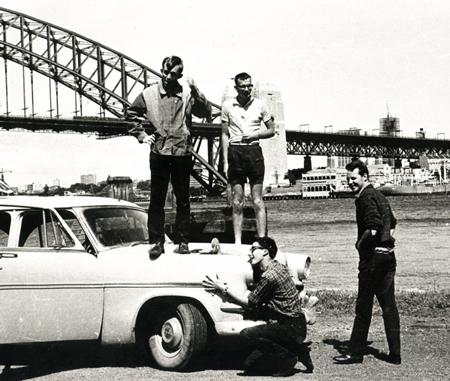 Customline in Sydney on the way to Bathurst.