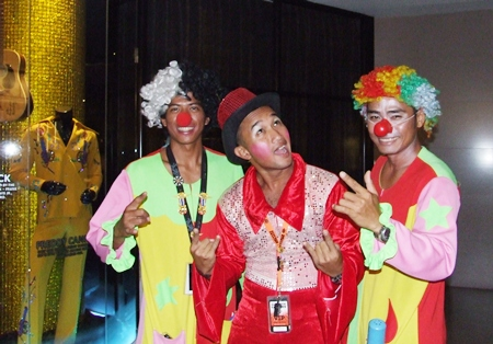 Who let the clowns out?