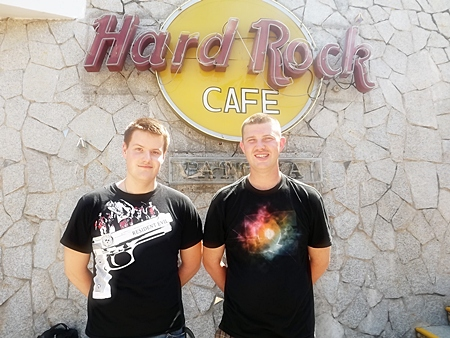 See - I've been to the Hard Rock Cafe Pattaya.