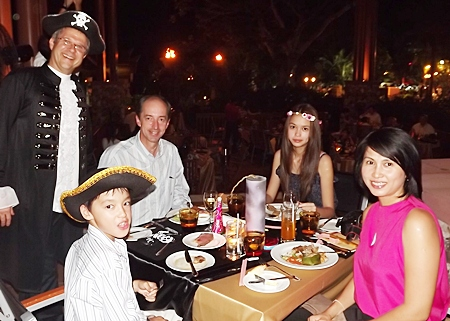Pirates of Pattaya take over the Centara Grand Mirage Beach Resort's welcoming 2012 party.