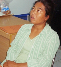 Khamnung Bunthukul admitted to stabbing her abusive husband to death.