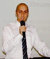 PCEC's speaker for January 1st was author, speaker, educator, and entrepreneur Adrian Shepherd.