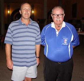 Rob Brown & Dave Richardson.