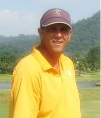 Bob Edwards, all smiles after successful outings at Kabin Buri and Pleasant Valley.