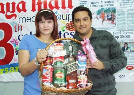 Kalya Kaewmorakot, owner of 87 Print brings good wishes for Pattaya Mail.