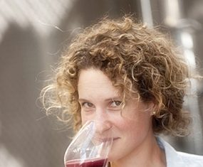 Winemaker at Da Chansac, Florence Sechet.