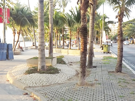 Pattaya City will spend 140 million baht to upgrade landscaping along Pattaya Beach and add another traffic lane the length of Beach Road whilst waiting for government approval of its beach erosion-repair project.  Expect traffic snarls along Beach Road when the work begins in March.