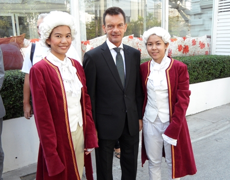 Austria's Consul in Pattaya, Rudolf Hofer, represented Pattaya at the event.
