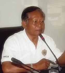 Senior Sgt. Maj. Wittaya Chansiri.