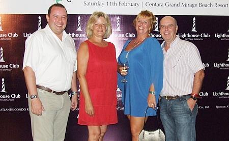 Clarke McKeown, Bea Grunwell, Kay McKeown and Joe Grunwell.