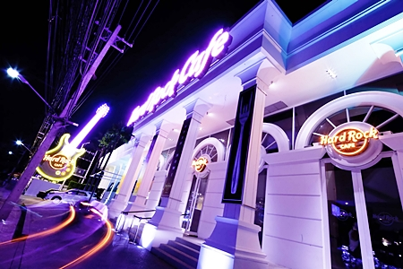 The Hard Rock Café Patong.