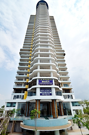 La Royale Beach tower.