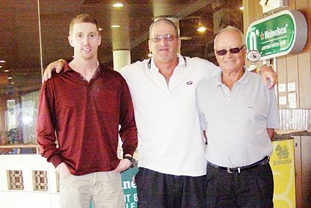 Monty Sykes, Peter Blackburn & Jan Lovgreen.
