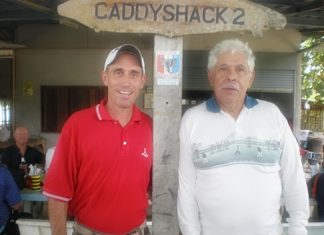 Kevin Worl (left) with Jim Hern.
