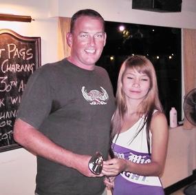 PAGS C-Flight winner Mark Slinn (left).