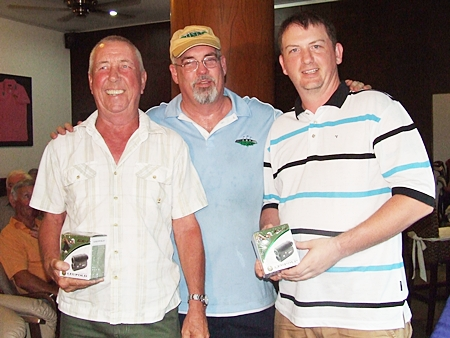 Tony Duthie (left) & Kevin McIntosh (right) were the runners-up.