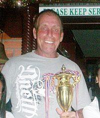 New Bunker Boys champion Barry Murnin.