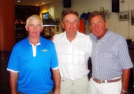 Silky Oak top three: John Connolly, Jean Morel & Andy Galvin.