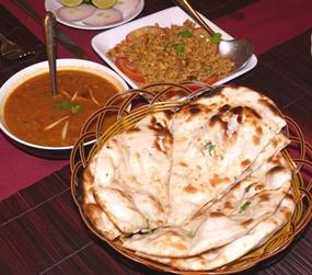 Baadshah dishes.