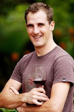 Winemaker Justin Corrans.