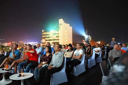 Rooftop film festival at dusitD2 baraquda Pattaya.