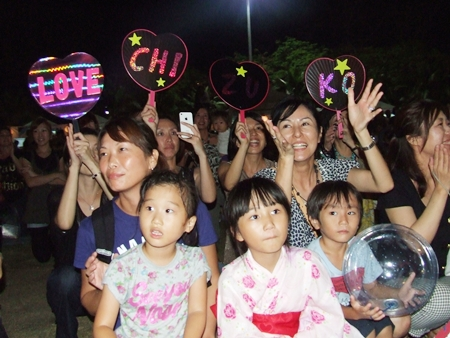 Thais and Japanese guests alike absolutely enjoy this event.