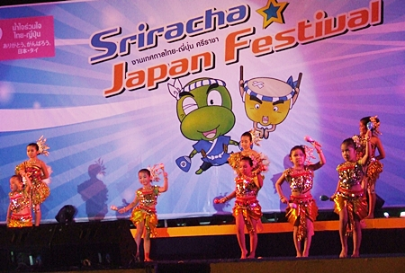"""It wouldn't be a """"real"""" Thai held festival without young children performing traditional Thai dance, and these youngster performed brilliantly."""