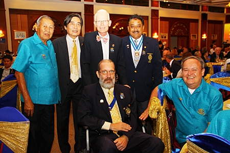 It was good to see Stefan Ryser (seated left) attend the function.
