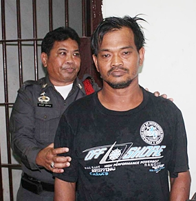 Upon arrest, Viroj failed a drug test and was booked on drug charges whilst police compile evidence to charge him with Anuwath's death.