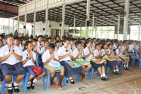 320 Sattahip children have signed up for summer camp, which offers English-language, math and computer classes.