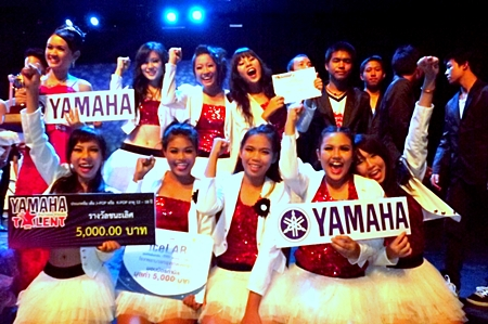 IDC Dance Cover from Pattaya School No. 11 wins the J-Pop / K-Pop, 12 - 18 years category.