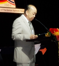 Thailand's Foreign Minister Dr. Surapong Towijakchaikul.