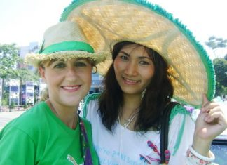 St Patrick's Day brings the communities of Pattaya together.