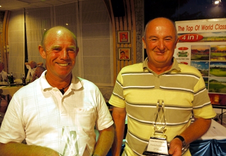 Runners-up, Geoff King and John Gall.