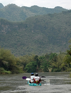 Adventure racing at the River Kwai Trophy.