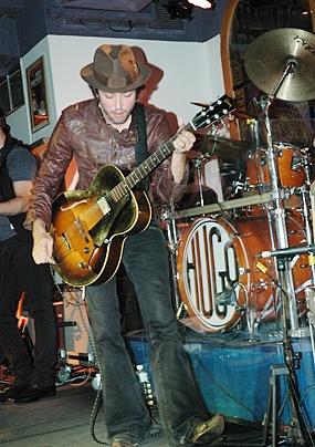 Hugo rocking the Hard Rock.